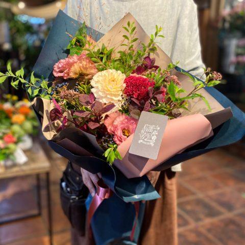 IMG_10 季節の花束-Antique Pink-