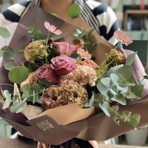 IMG_8 季節の花束-Antique Pink-