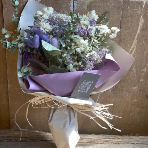 IMG_1 ドライフラワーの花束-Purple-