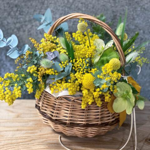 IMG_2 生花のアレンジメント-Yellow-