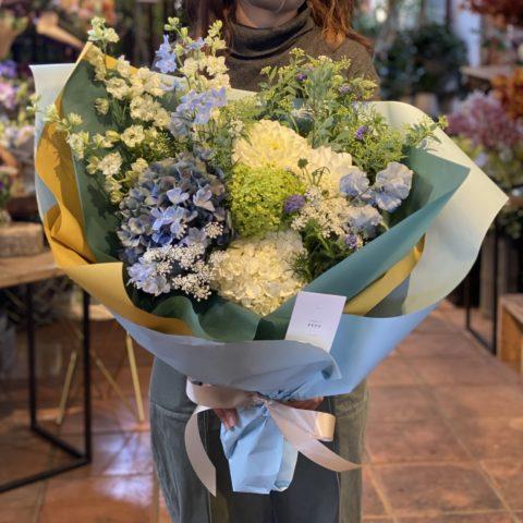 IMG_19 季節の花束-Blue-